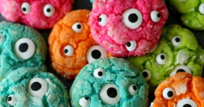 Continuando con las ideas para Halloween, hoy aprenderemos a hacer unas deliciosas galletas en forma de cerebros con ojos.         Puedes h...