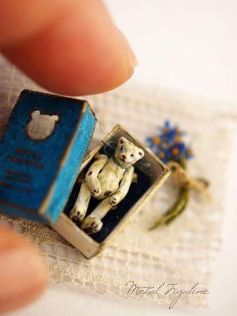 Teddy Bear in a matchbox