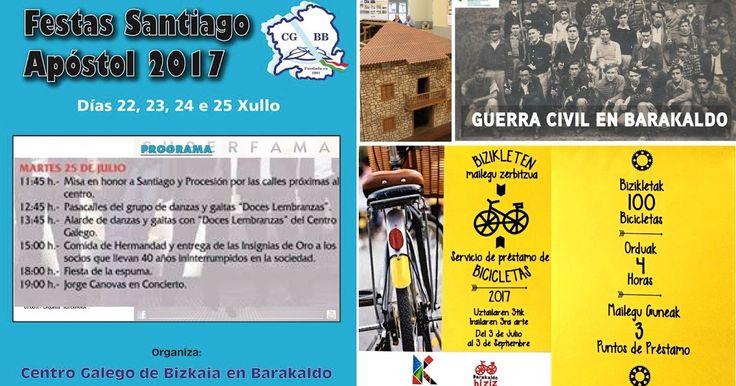 Agenda | Despedida de las fiestas de Santiago del Centro Gallego + bicicletas + El Regato