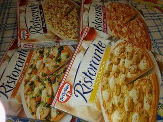 Os meus artigos de tricot (e desabafos de mãe): Pizzas Ristorante aprovadas!!