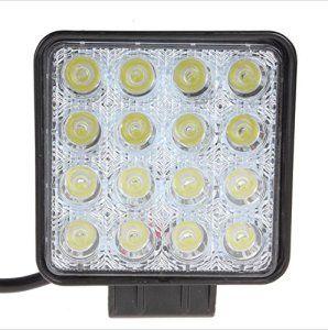 【Pack 2】 16 LED 48W Light Work spot Lampe de travail pour voiture ancienne Phares feux de recul Phares anti-brouillard, étanche IP67:…