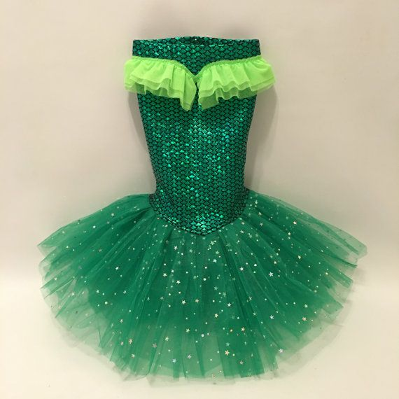 Little Mermaid Princess Costume Skirt Only by Miamibeachmermaids