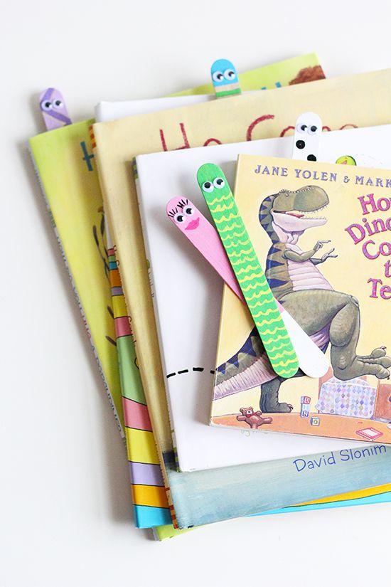 Book Worms Craft by @SweetLittlePeaunut