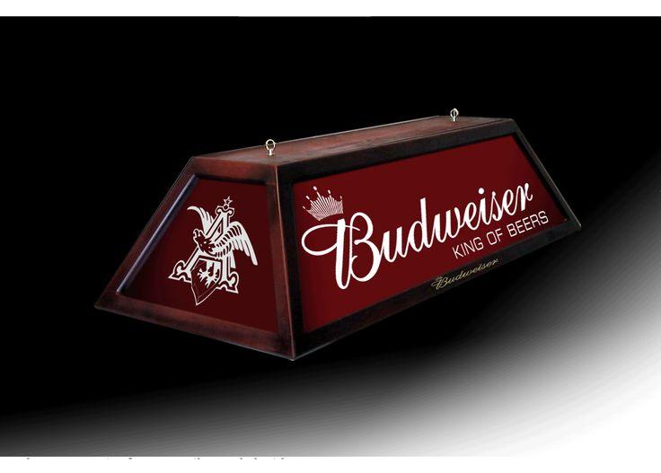 Budwiser Pool Table Light   Welcome To Bar And Billiards Lighting Of Orlando,  Florida