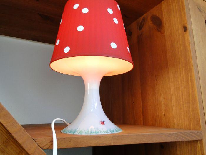 ikea lampe fliegenpilz