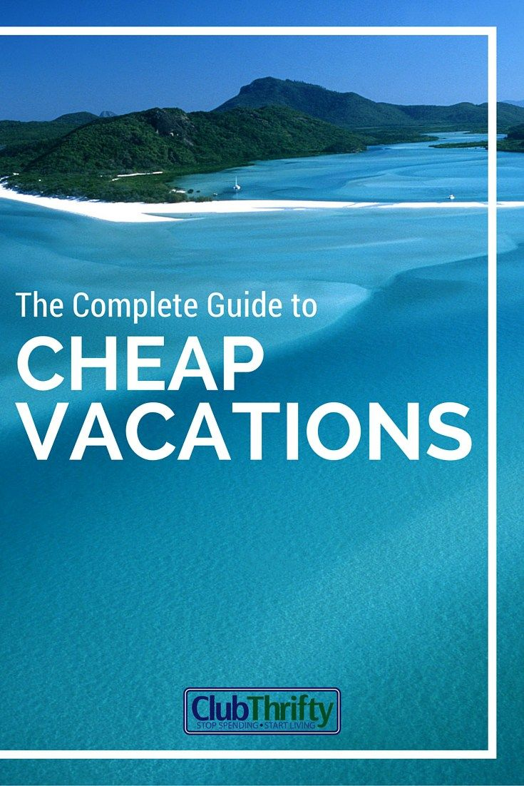 Looking for cheap travel? Check out our complete cheap vacations guide! Learn our favorite discount destinations and money saving tips to get there!