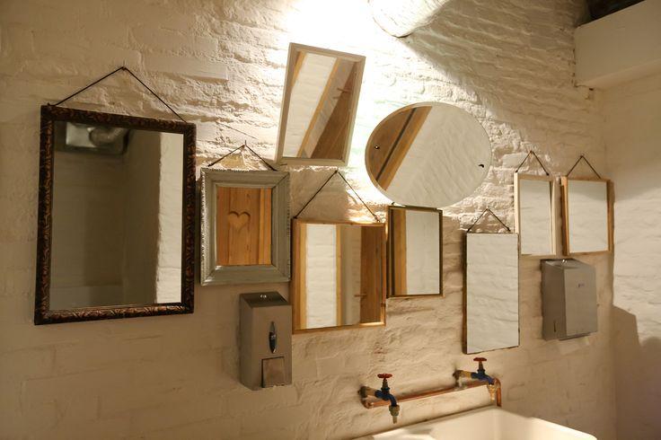 restroom mirrors