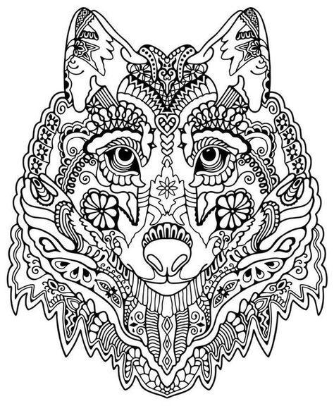 Ausmalbilder Erwachsene Wolf 699 Malvorlage Erwachsene Ausmalbilder