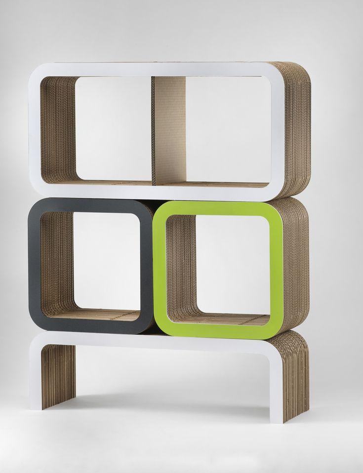 Moretto, Lessmore - modular cardboard boxes