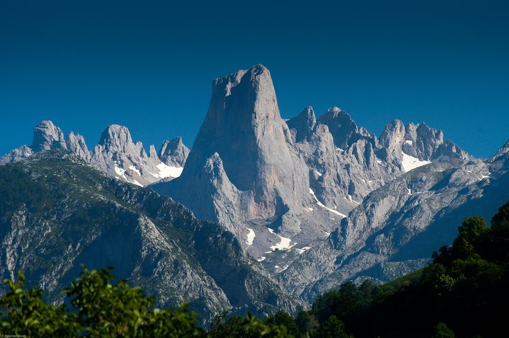 BLOG OF GEOGRAPHY Professor Pedro Oña: the Cantabrian Mountains