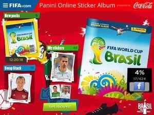 Fifa lança álbum de figurinhas da Copa do Mundo para smartphones e tablets. (Foto: Divulgação/Apple).07/05/2014.