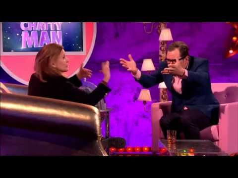Carrie Fisher + Gary on Alan Carr