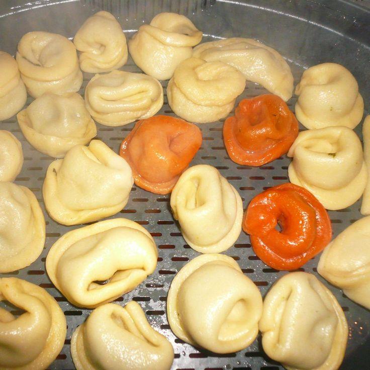 Rezept Tortellini´s Hausgemacht mit Spinat-Schafskäse Füllung von MondstckchenT31 - Rezept der Kategorie sonstige Hauptgerichte