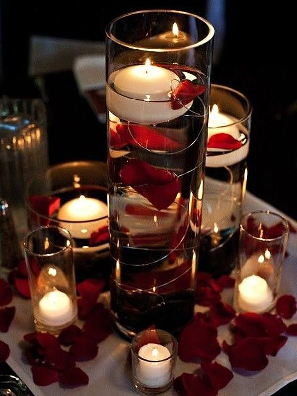 6 Pack 16 Heavy Duty Cylinder Glass Vase Candle Centerpieces