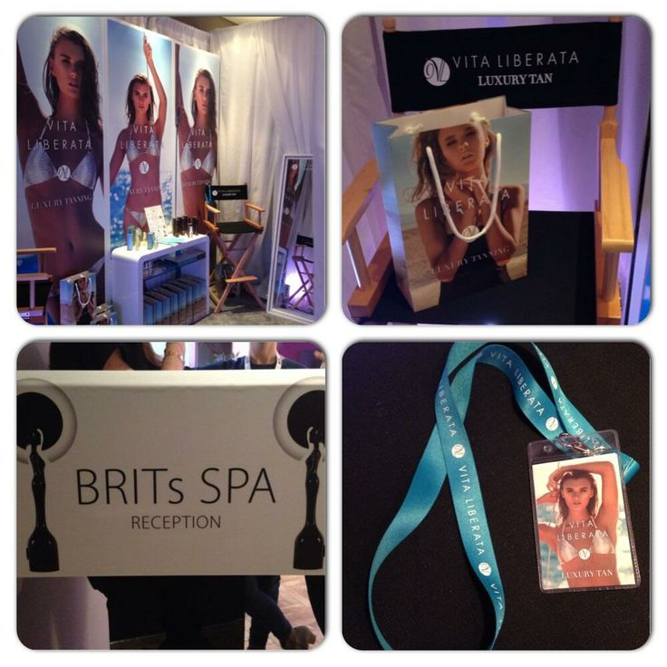 Our beautiful Spa Station at #BRITs2014 - ready and waiting for lots of fabulous celebrities!