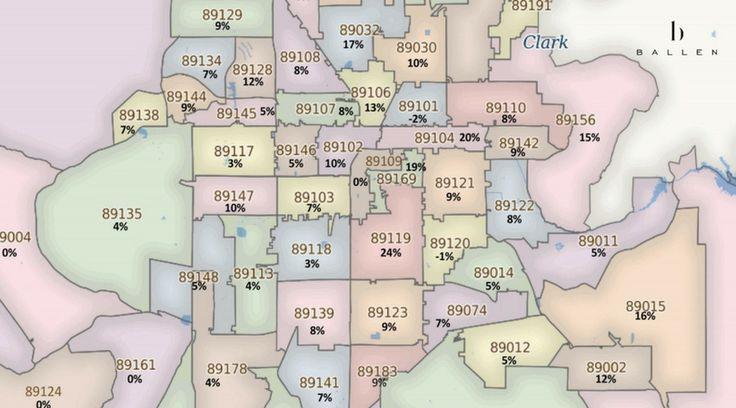 Greater Las Vegas Appreciation Map