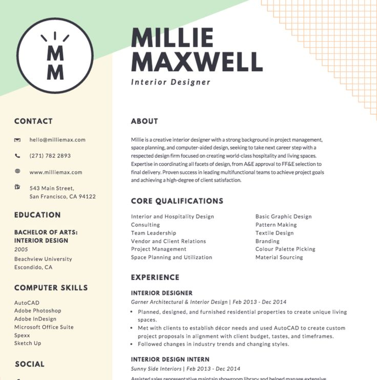 26 best CV images on Pinterest Design resume, Resume design and - tattoo artist resume