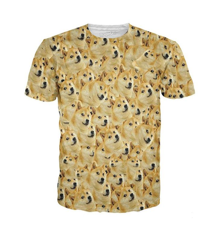 We love this cute doge t-shirt. This doge t-shirt features the dog Shiba Inu…