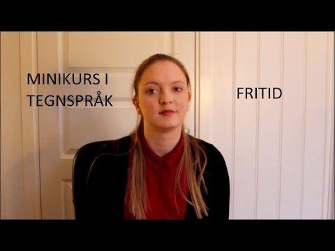 Minikurs i tegnspråk: Fritid (#33)