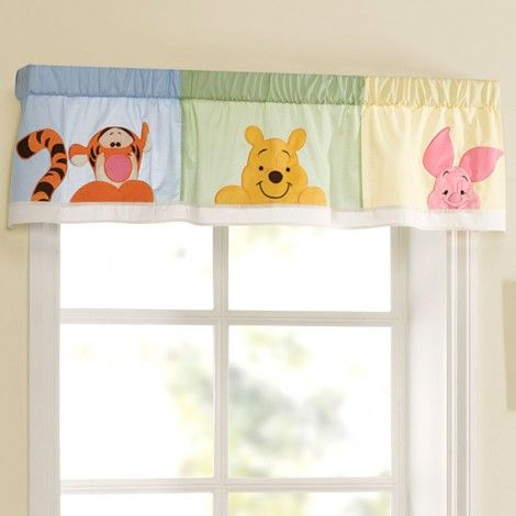 Winnie The Pooh Nursery Curtains Thenurseries