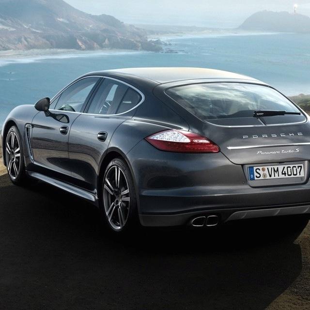 Four-door Porsche = Great family car ;-)
