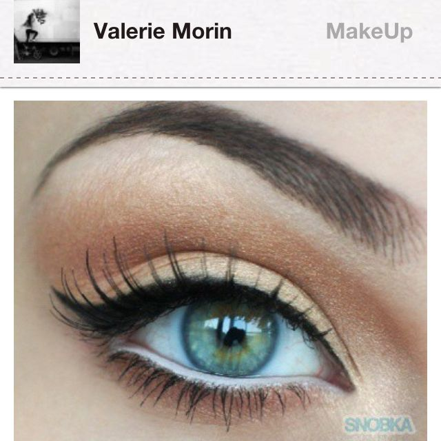 So pretty! I love having green eyes..Wish I could pull this off :)