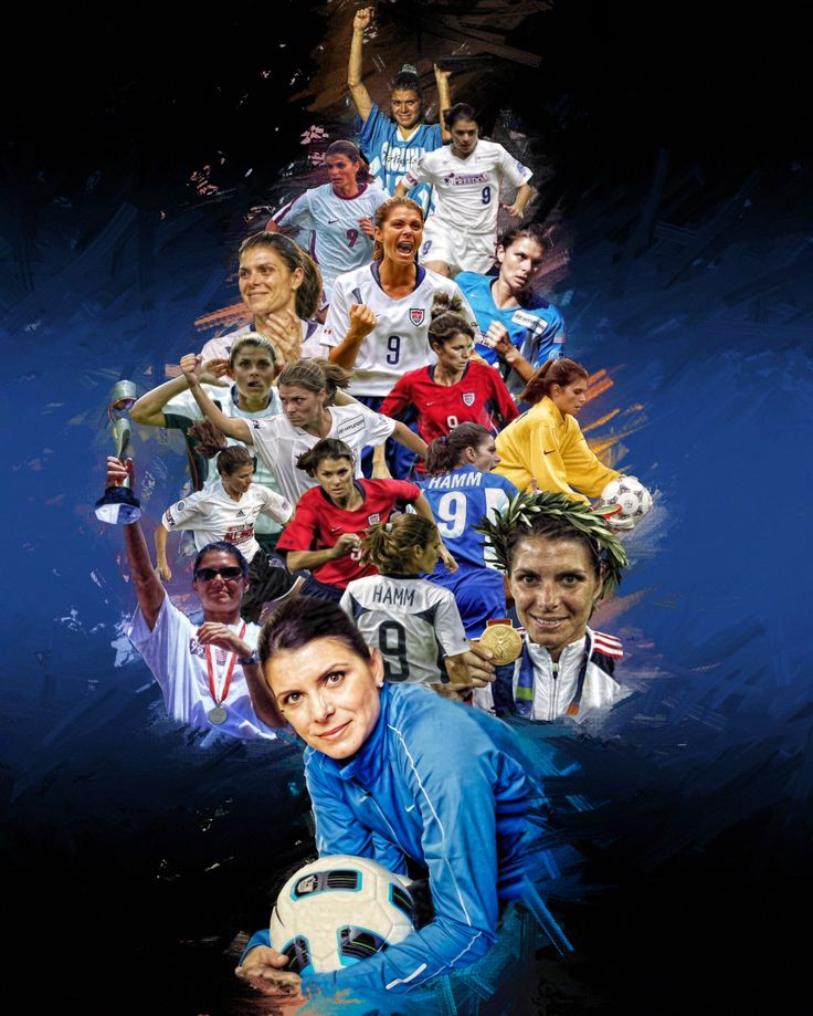 Mia Hamm (From University of North Carolina to Washington Freedom + National Team)