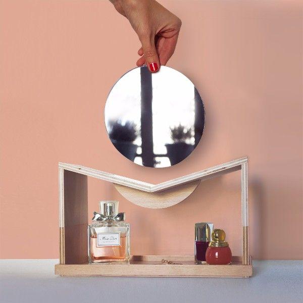 Meer dan 1000 idee n over coiffeuse avec miroir op for Miroir ikea hemnes