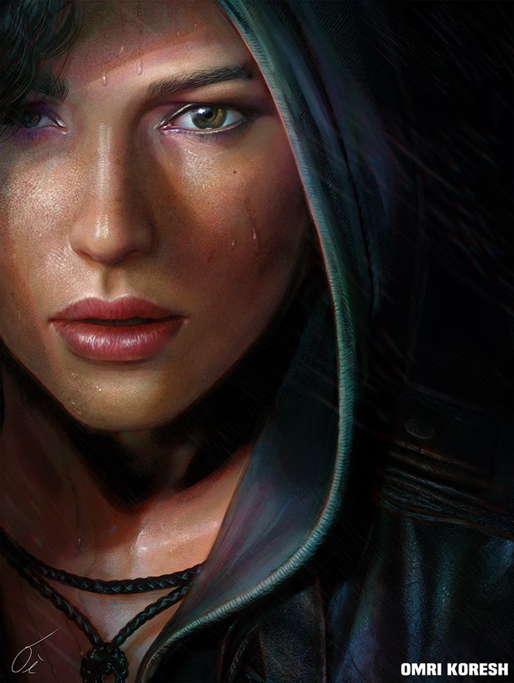 """Rise of the Tomb Raider Portrait By: Omri Koresh of Israel """"I didn't get the chance to play it yet! but i thought it's a good excuse and try to understand DanLuVisiArt 's coloring! I think I'm getting there!!"""" -Omri Koresh Omri Koresh: Website 