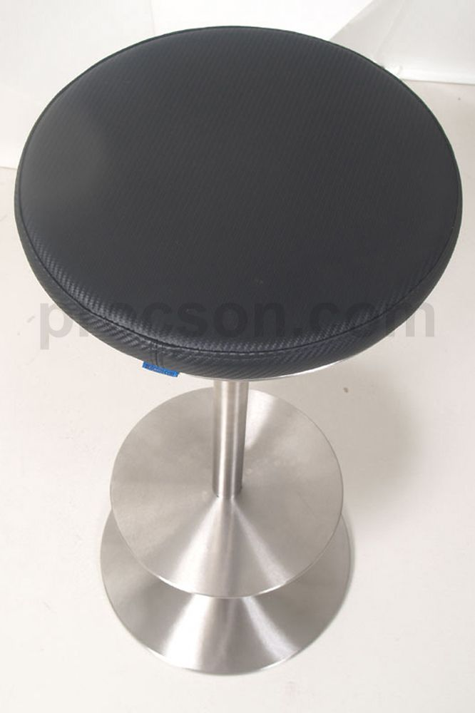 Adjustable Height Stool. This is the ultimate accessory for using with the Preachers (tall) table or the adjustable lectern. You might think that designing a stool is easy but this one was not. We wanted to keep it in sync with the Arc look and yet be superior in function and style.
