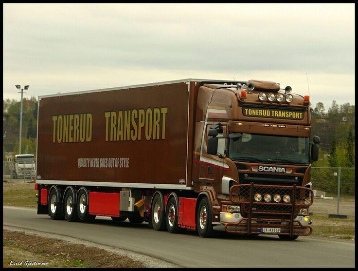 Tonerud Transport   ~ Scania ~   Pinterest
