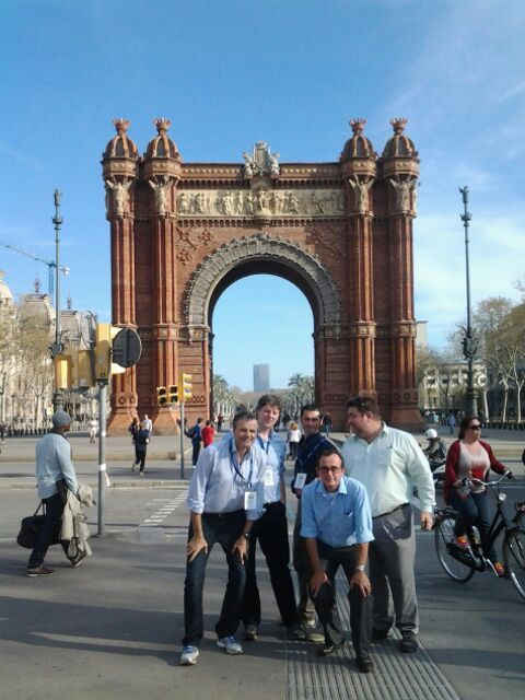 With tailor-made questions Sibelco's goteam.guru challenge took them around Barcelona's sights including the SagradaFamilia church, La Pedrera (Casa Mila), Las Ramblas and the Picasso Museum amongst others.