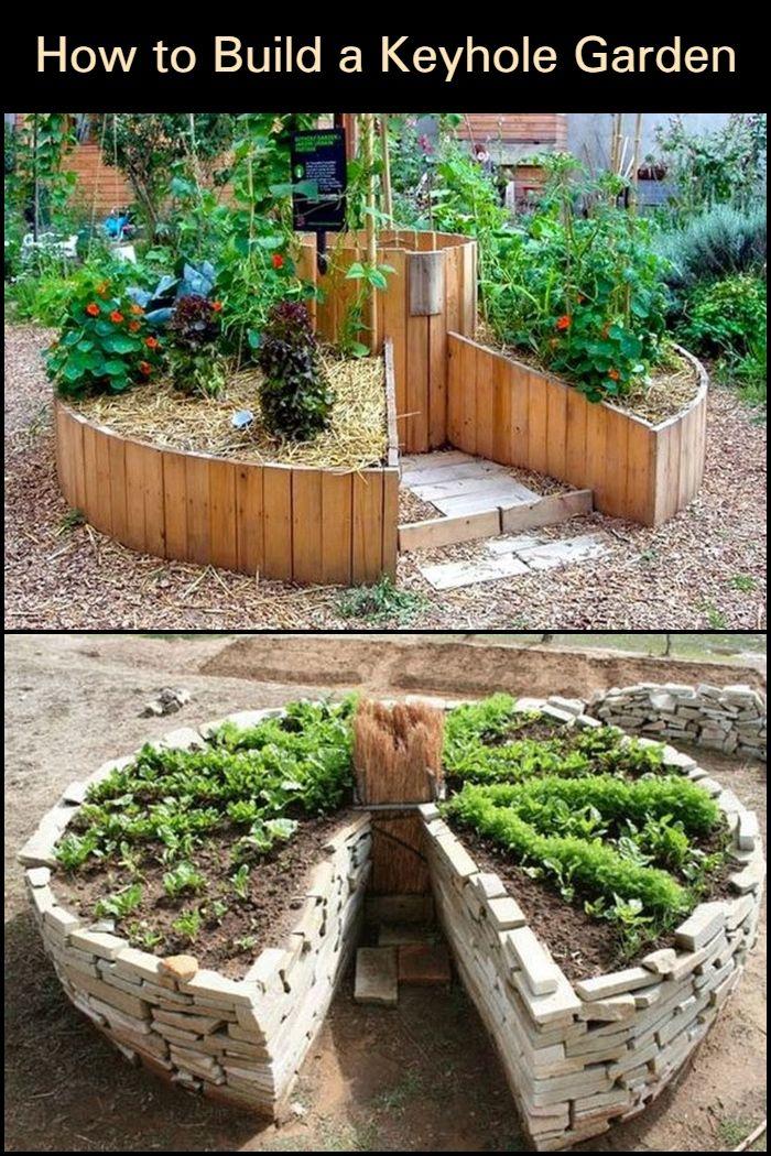 How To Build A Keyhole Garden Keyhole Garden Keyhole Garden