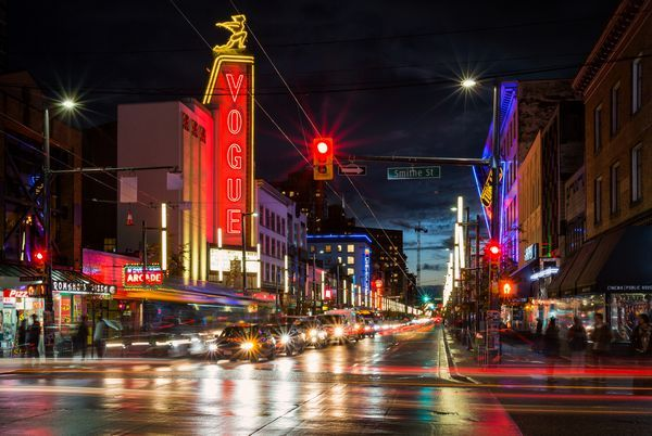 Granville Street at Night
