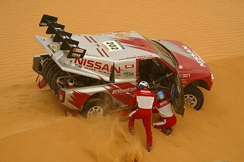 Slot Car Racing Argentina: Nissan Pick-Up DAKAR 2004 (Mc-Rae / Thorner)