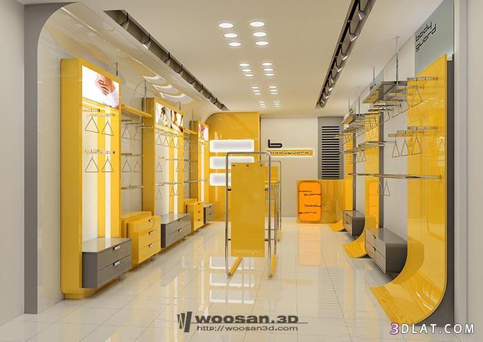 ديكور محلات تجارية Modern Decor Design Room Divider