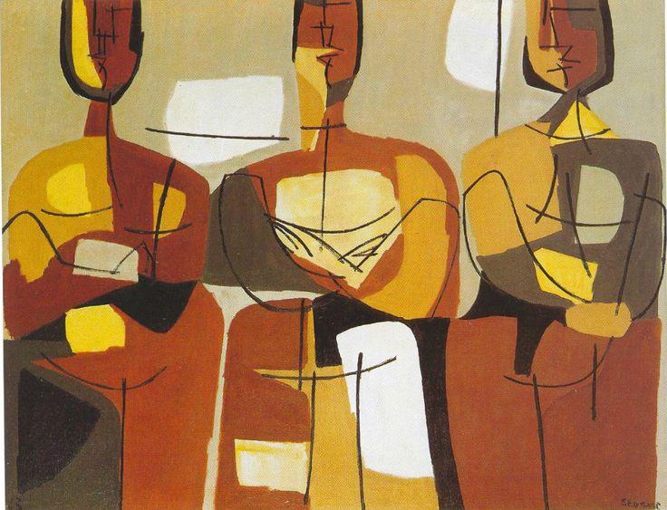 Noticias dos Homes (1969) Luis Seoane