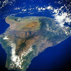 Big Island named Hawai'i is not only the youngest but also the largest of all the Hawaiian islands.The other islands could fit on it nearly twice.