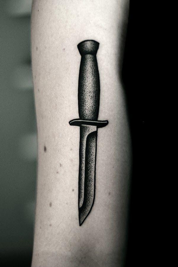 #knife #tattoo                                                       …