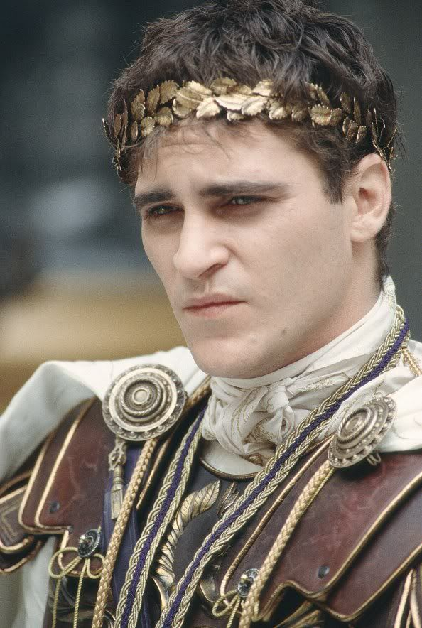 Joaquin Phoenix as Commodus, Gladiator (2000) Are you not entertained?