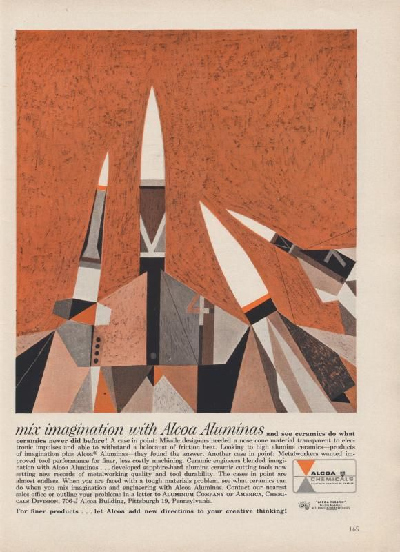 The Modernist Nerd: Vintage Science Ads from the 1950s-1960s