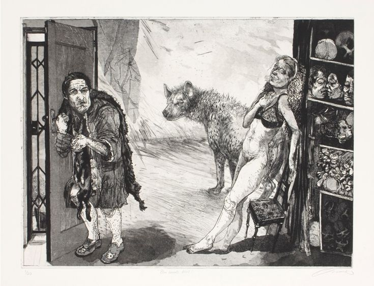 Victor- Bluebeard's Wife 2008- Etching- LR2