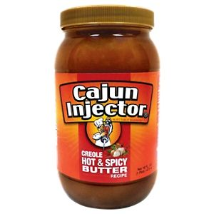 Cajun Injector Injectable Marinade - Creole Hot and Spicy Butter