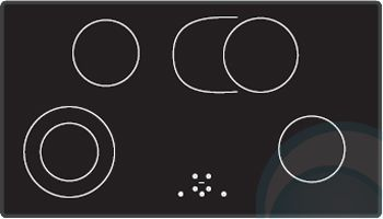 Smeg Electric Cooktop SA911XA