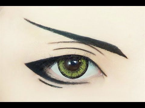 17 Best ideas about Anime Eye Makeup on Pinterest | Anime ...