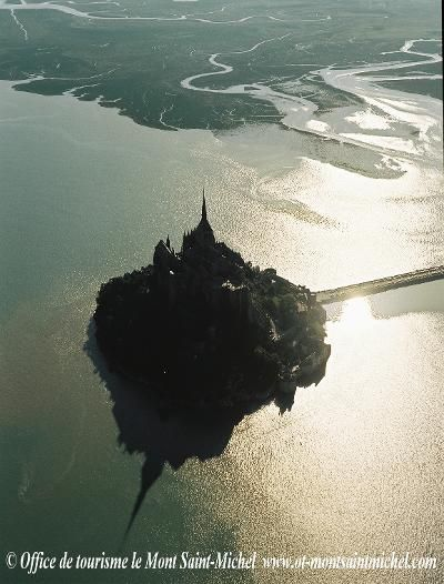 mont saint michel.  most magical place in the world.