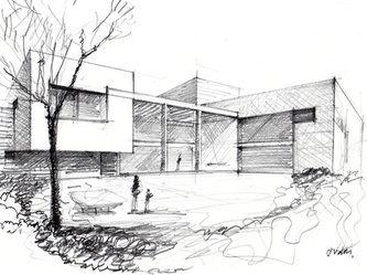 Boceto - sketches arquitectonicos