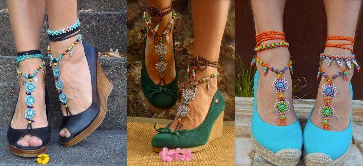 """Цыганские напевы """"barefoot sandals"""" (подборка) / Обувь / Своими руками - выкройки, переделка одежды, декор интерьера своими руками - от ВТОРАЯ УЛИЦА"""