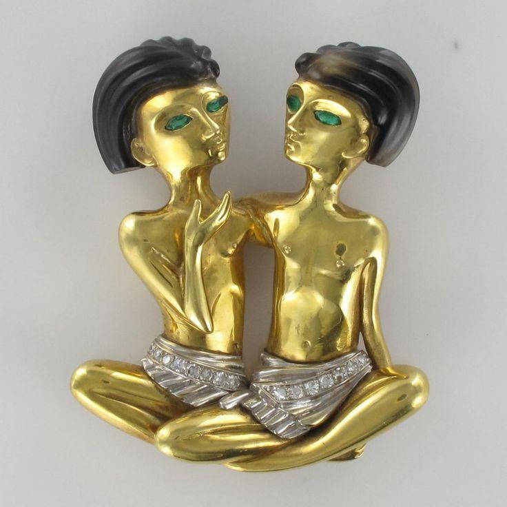 Broche Ancienne égyptiens