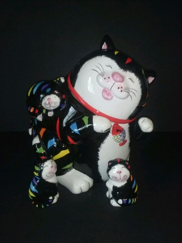 1000 Images About Kitty Cat Cookie Jars On Pinterest